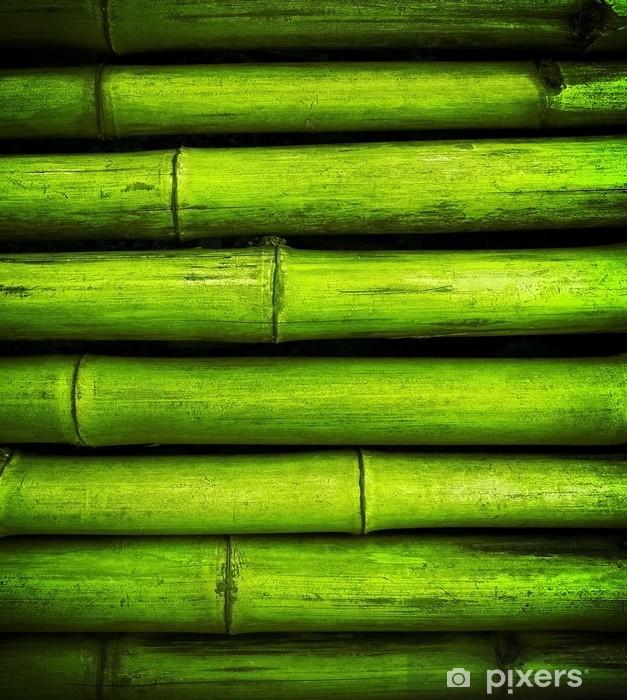 Sticker Pixerstick Bamboo background - Thèmes