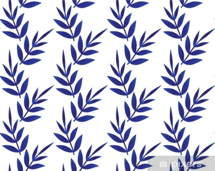 Bambus mønster Pixerstick klistermærke - Grafiske Ressourcer