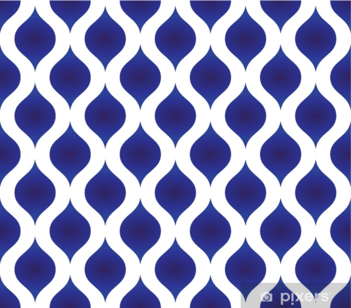 ceramic pattern modern shape Vinyl Wall Mural - Graphic Resources