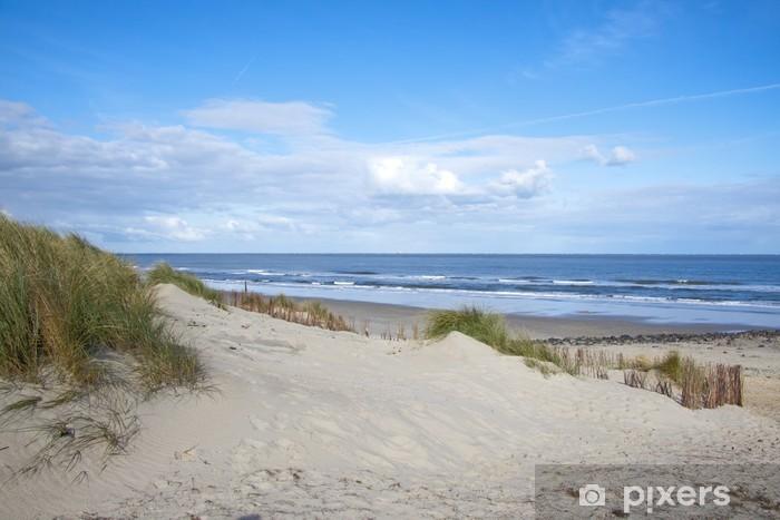 Vinilo Pixerstick Playa abandonada sueño - Destinos