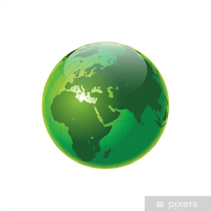 Yeşil Dünya Pixerstick Sticker - Signs and Symbols