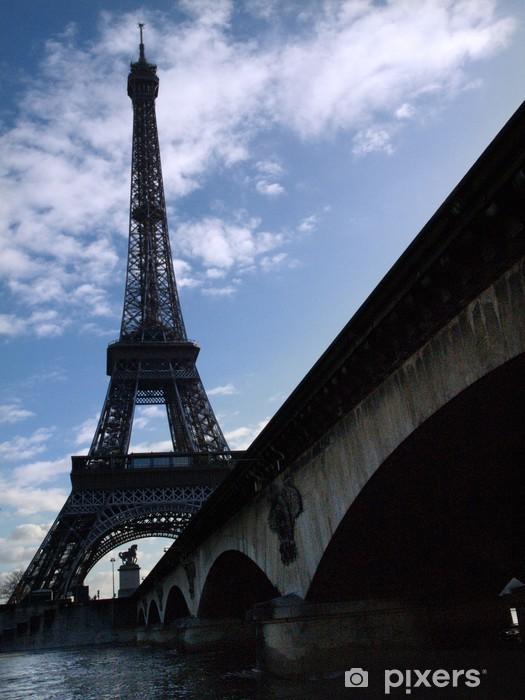 Vinilo Pixerstick Viaje Eiffel 11 - Infraestructuras