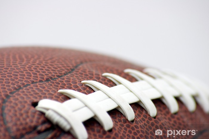 Pixerstick Sticker American Football Laces macro - American Football