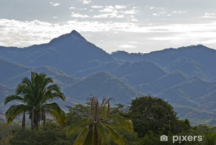 Fotomural Estándar Promontorios costeros de la Sierra Madre - Deportes de exterior