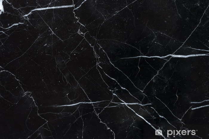 Fototapeta winylowa Czarne tło marmur tekstura marquina - Zasoby graficzne
