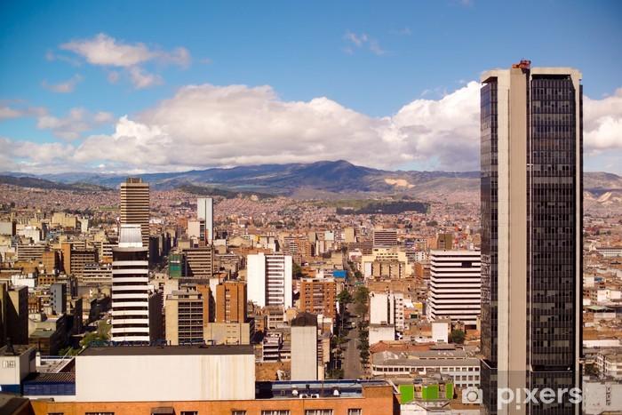 Vinilo Pixerstick Downtown, Bogotá, Colombia, América del Sur - Temas