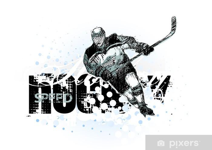 ice hockey 2 Vinyl Wall Mural - Team Sports