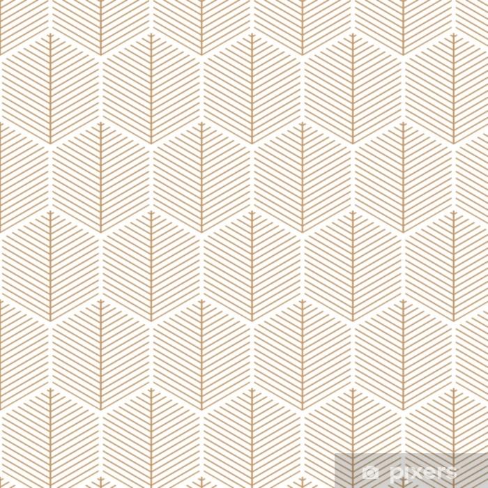 Pixerstick Sticker Art deco, elegant, retro, vector patroon. - Grafische Bronnen