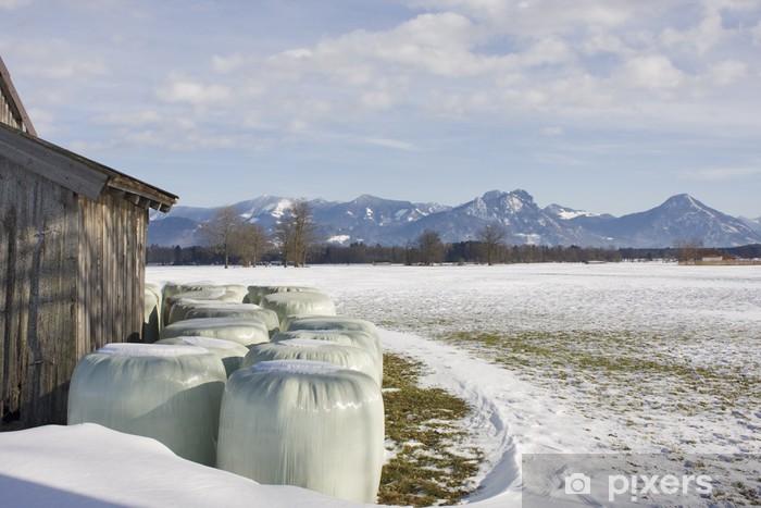 Nálepka Pixerstick Landschaft in Bayern - Prázdniny
