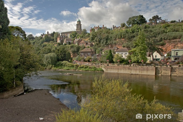Pixerstick Aufkleber Fluss Severn bei Bridge - Themen