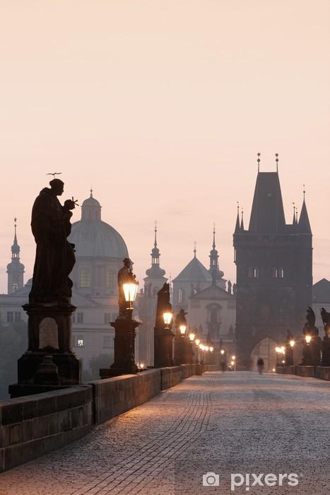 Vinyl-Fototapete Prag Karlsbrücke - Prag