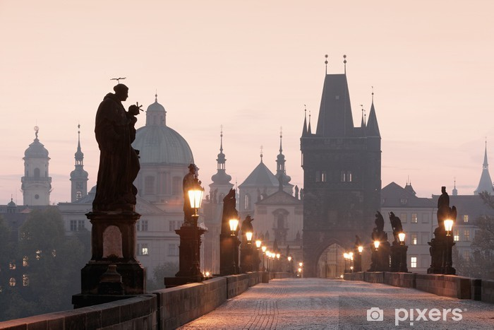 Fototapeta winylowa Most Karola w Pradze - Praga
