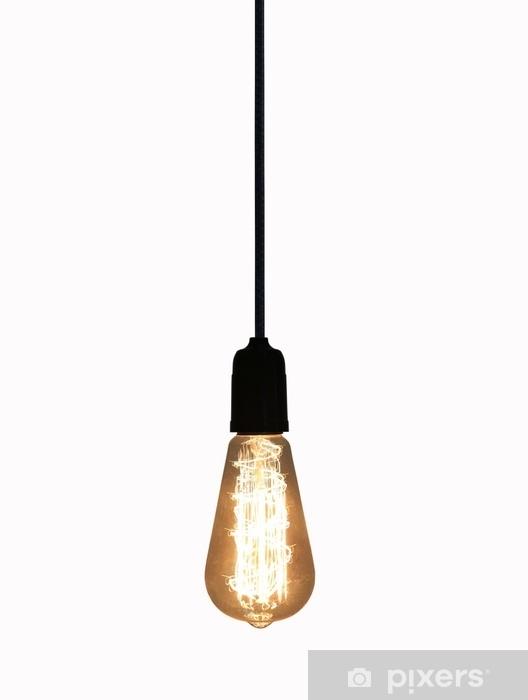 Pixerstick Sticker Uitstekende lamp die op witte achtergrond wordt geïsoleerd. - Technologie