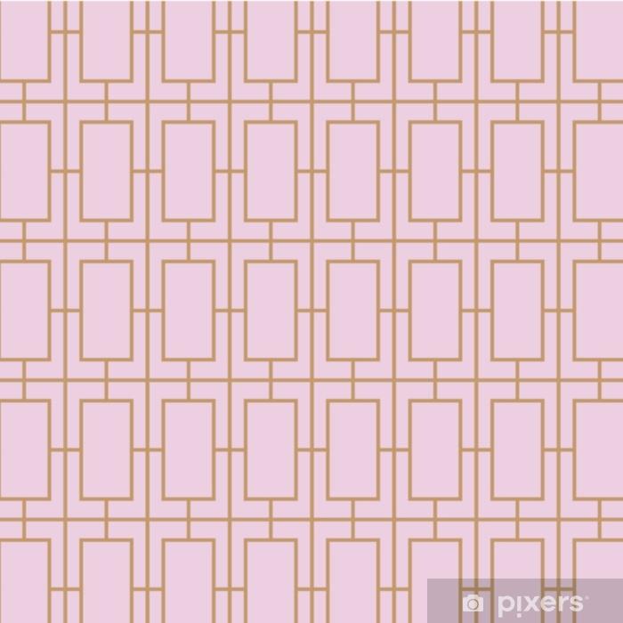 Pixerstick-klistremerke Art deco, vintage, retro, sømløs vektor mønster. - Grafiske Ressurser