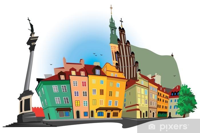 Fototapeta winylowa Stare Miasto w Warszawie - Tematy