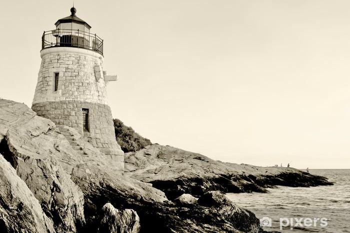Pixerstick Aufkleber Leuchtturm - Amerika