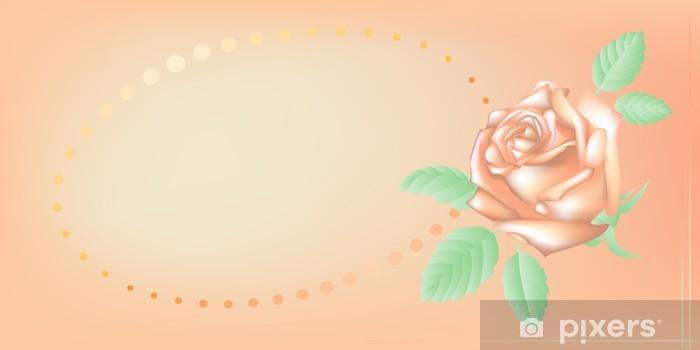 Papier peint vinyle Carte d'invitation, illustration vectorielle - Arrière plans