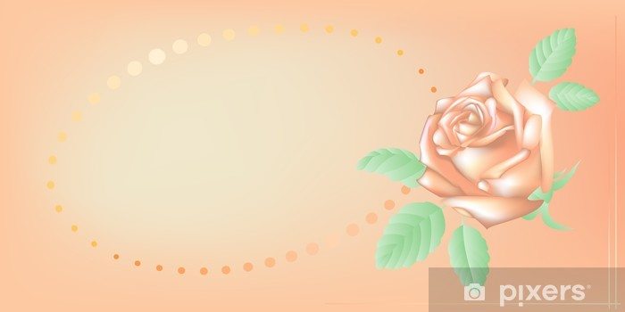 Sticker Pixerstick Carte d'invitation, illustration vectorielle - Arrière plans