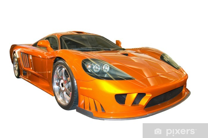 saleen sports car Vinyl Wall Mural - On the Road