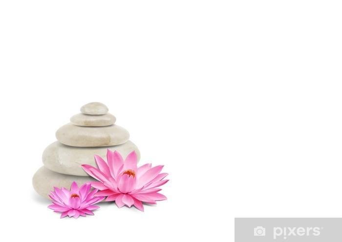 Nálepka Pixerstick Orchid větev a oblázky - Náboženství
