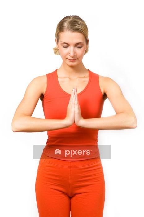 b8ec289a45f5 Vinilo para Pared Gimnasio / yoga • Pixers® - Vivimos para cambiar