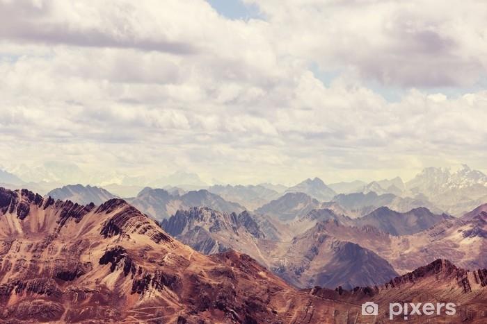 Afwasbaar Fotobehang Cordillera - Landschappen