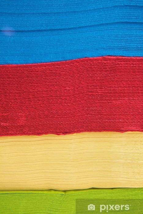Nálepka Pixerstick Tovaglioni colorati - Národní svátky