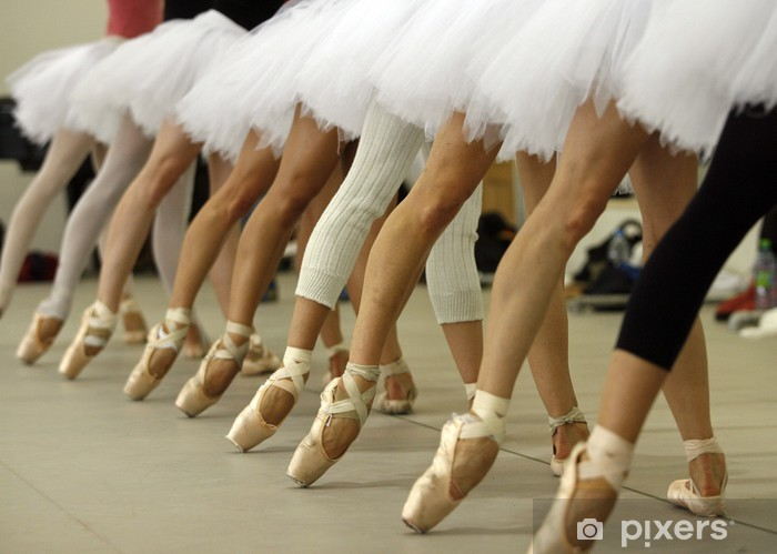 Fotomural Autoadhesivo Bailarinas - Artes y creación