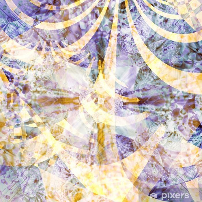 Fototapeta winylowa Wygenerowane komputerowo projektowania abstrakcyjna - Abstrakcja