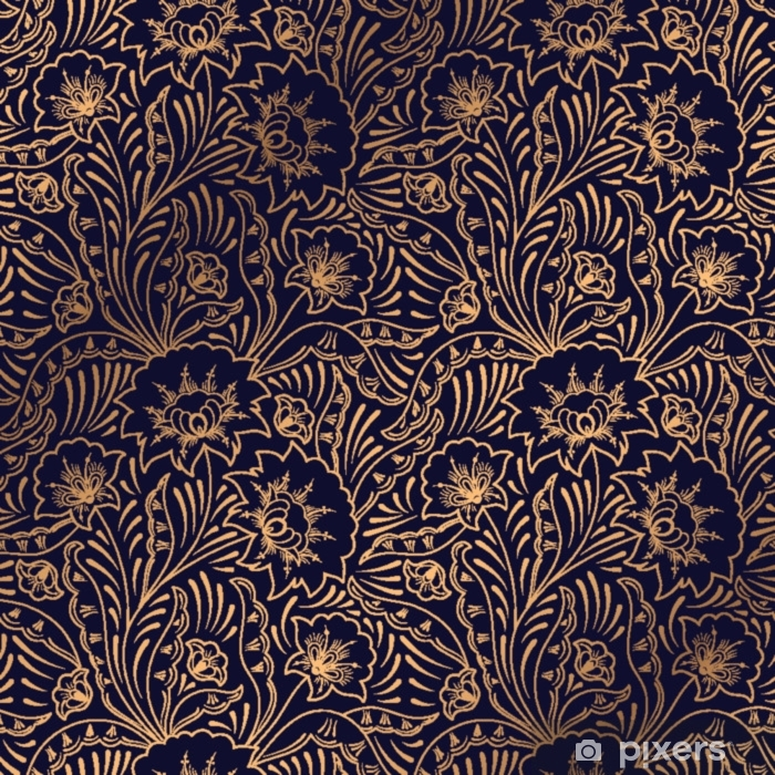Luxury Background Vector Floral Royal Pattern Seamless Indian