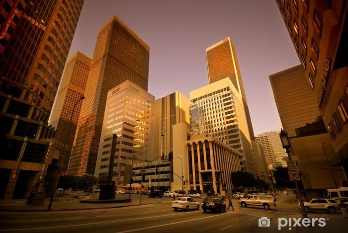 Vinylová fototapeta Los Angeles Downtown - Vinylová fototapeta