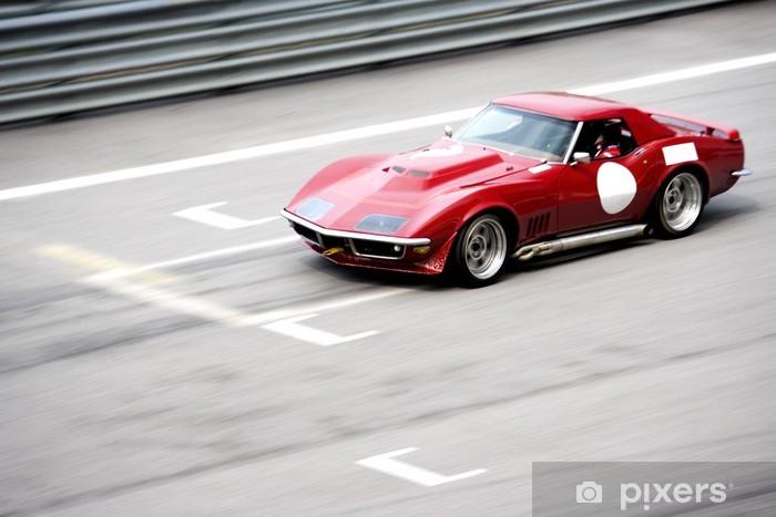 Papier peint vinyle Race Car Classic - Sur la route