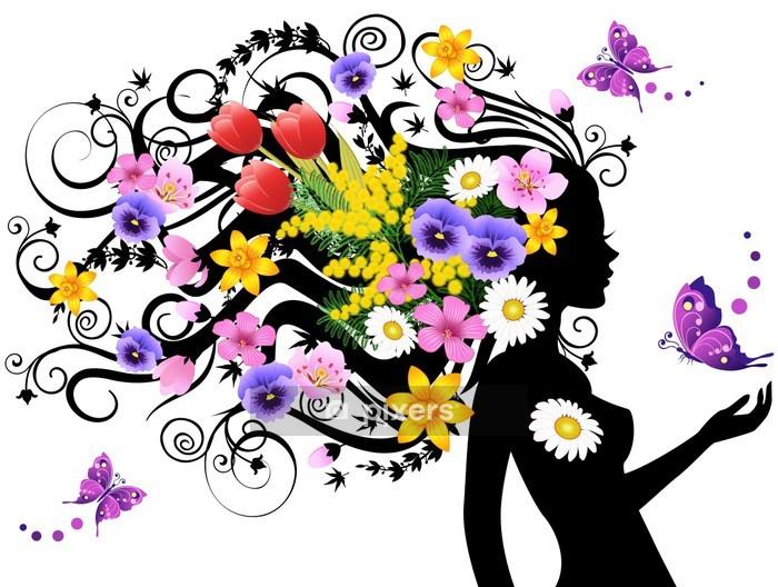 Spring fairy Wall Decal - Fashion