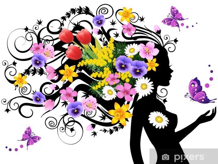 Spring fairy Vinyl Wall Mural - Fashion