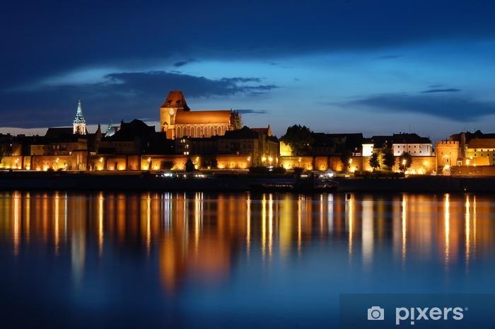 Fototapeta winylowa Toruń - Starówka - Tematy