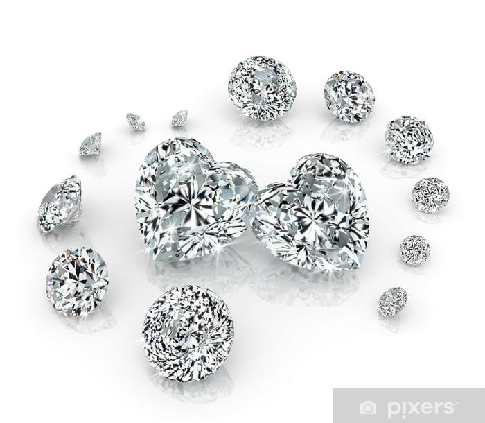 Adesivo Pixerstick Gruppo di diamanti - Feste Internazionali