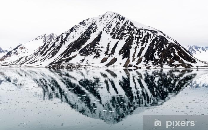 Rocks in Arctic Self-Adhesive Wall Mural - Travel