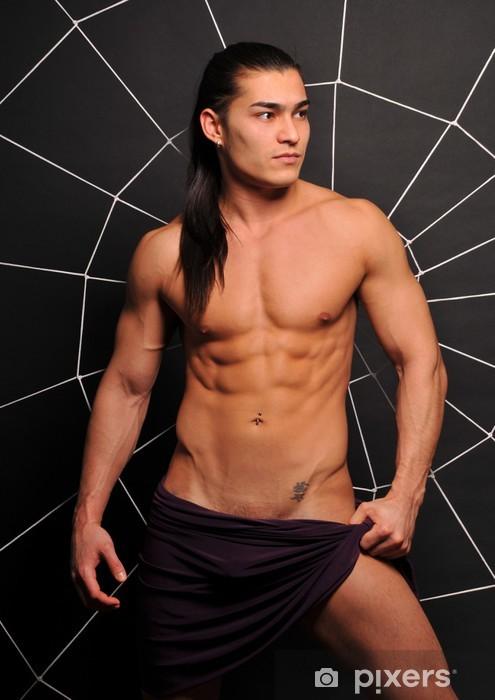Nálepka Pixerstick Mladí model - Životní styl, péče o tělo a krása