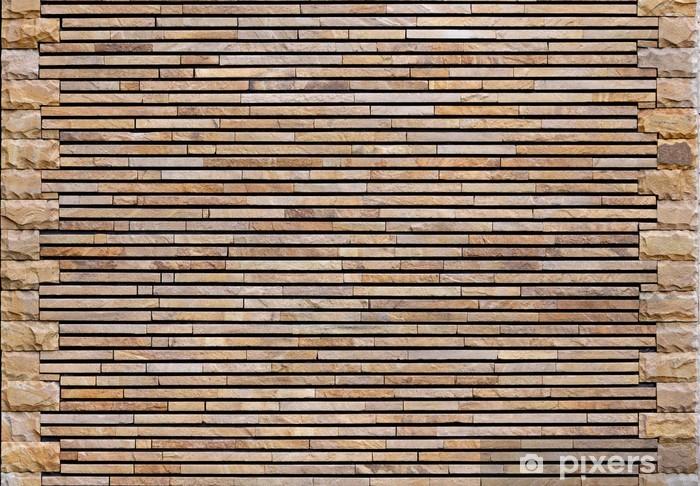 Papier peint vinyle Paroi décorative en pierre texture - Arrière plans