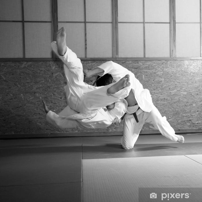judo fight Pixerstick Sticker - Other Feelings