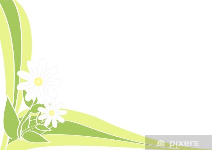 Fototapeta winylowa Wiosna, tło stokrotki - Pory roku