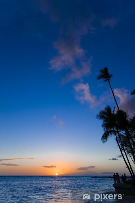 Fototapeta winylowa Waikiki słońca - Wakacje