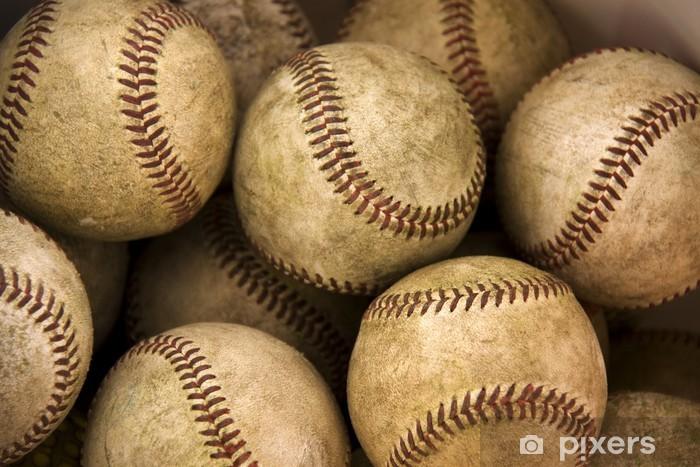 Papier peint vinyle Baseballs - iStaging