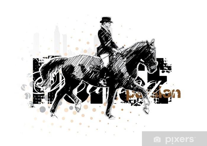 Mural de Parede em Vinil horse 3 - Temas