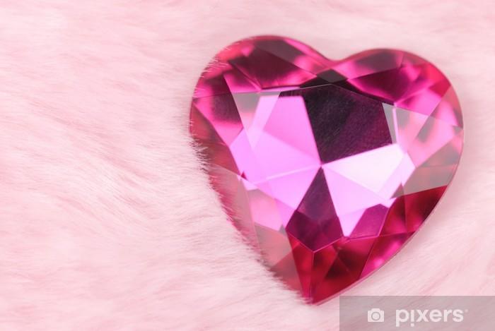 Fotomural Estándar Corazón de cristal - Celebraciones internacionales