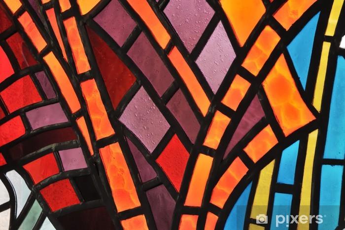 Fototapeta winylowa Stained Glass Window Kościoła - Tekstury