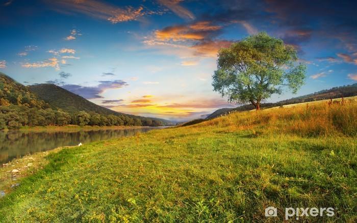 Fototapeta winylowa Rano - Niebo