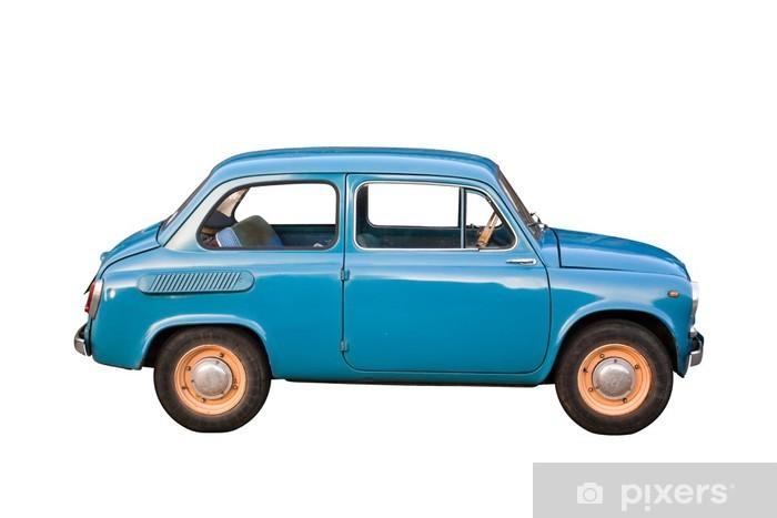 Vinylová fototapeta Tiny Sovětský vůz s ořezovou cestou - Vinylová fototapeta