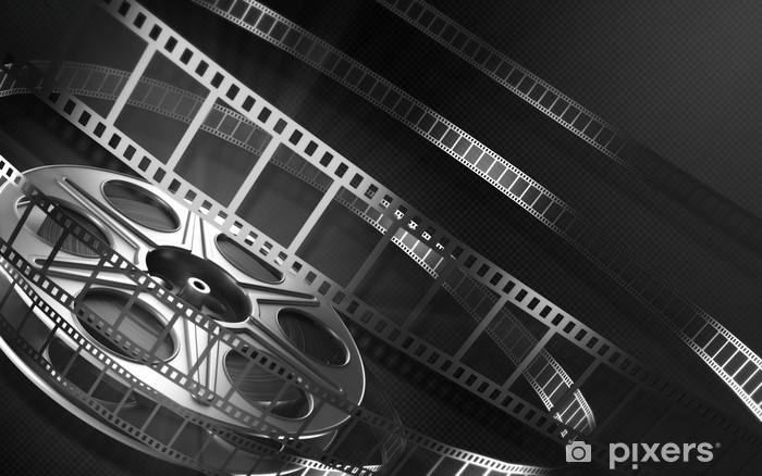 Carta da Parati in Vinile Cinema film reel - Film e serie tv