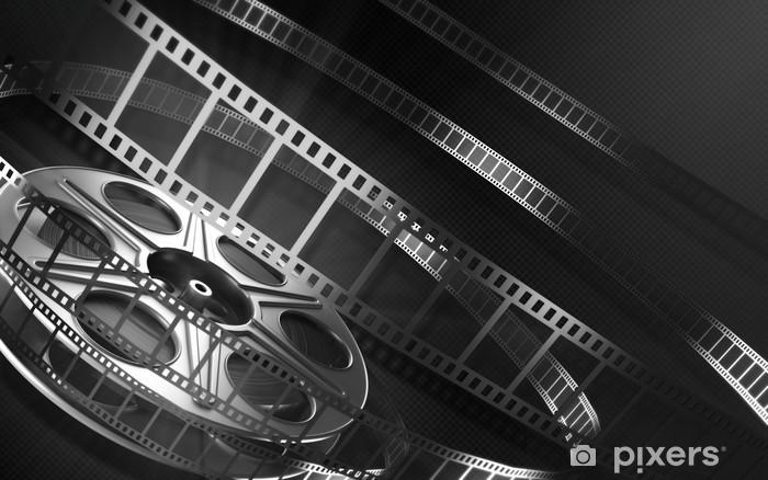 Vinyl Fotobehang Cinema filmrol - Films en tv-series